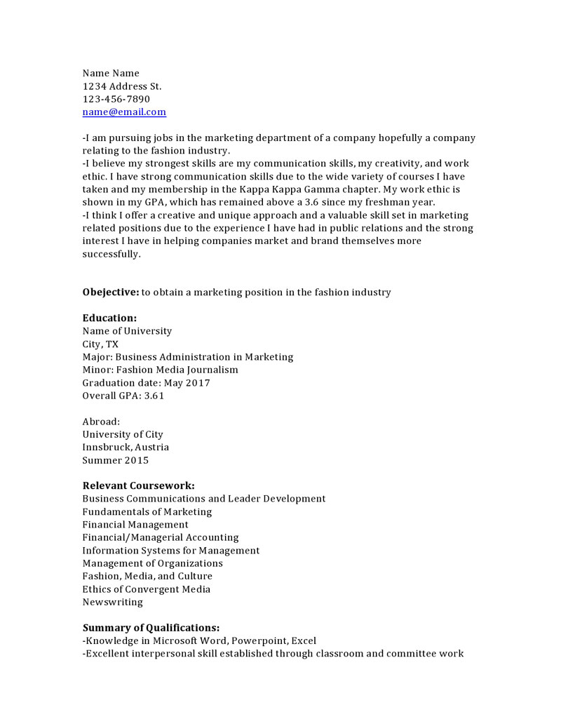 relevant coursework on resume Resume - relevant coursework on resume example classy design good relevant coursework on resume example good 18 with additional format relevantwork in resume example httpwww resumecareer resumes relevant coursework on.